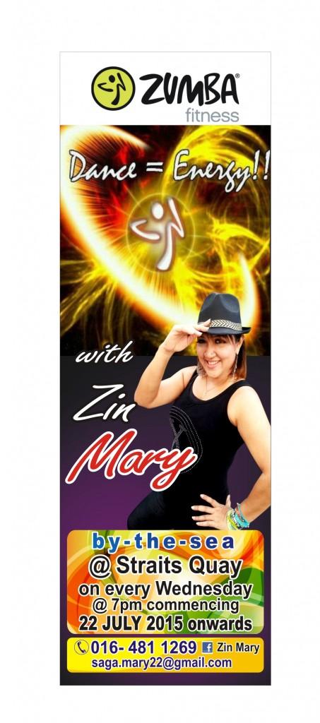 Zumba Fitness with Zin Mary