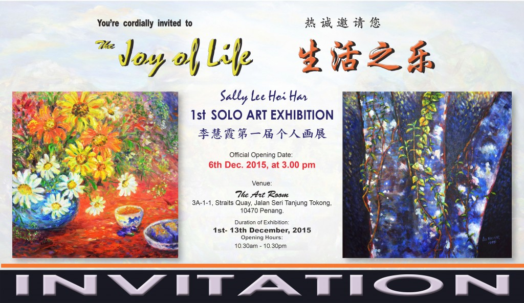 JOY OF LIFE EXHIBITION BY SALLY LEE