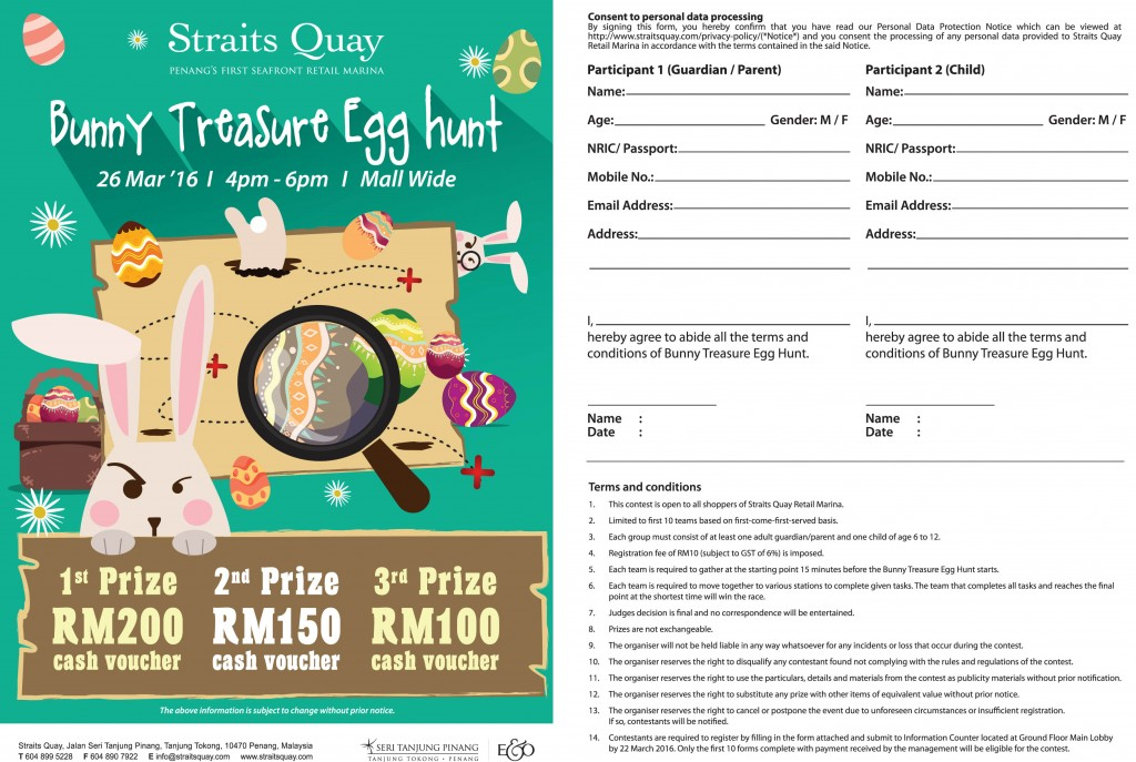 Fa bunny Treasure Hunt 26Feb