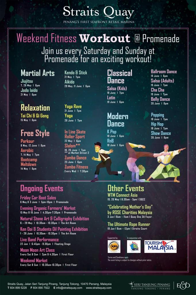 Weekend Fitness Workout @ Promenade
