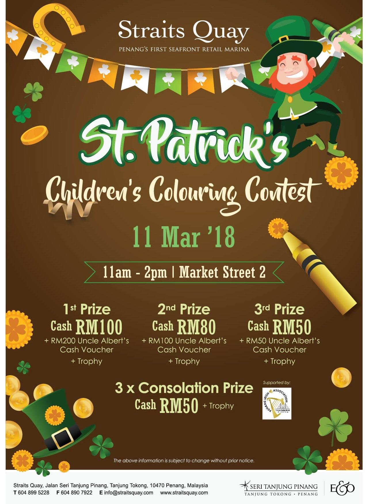 ST. PATRICK'S CHILDREN'S COLOURING CONTEST