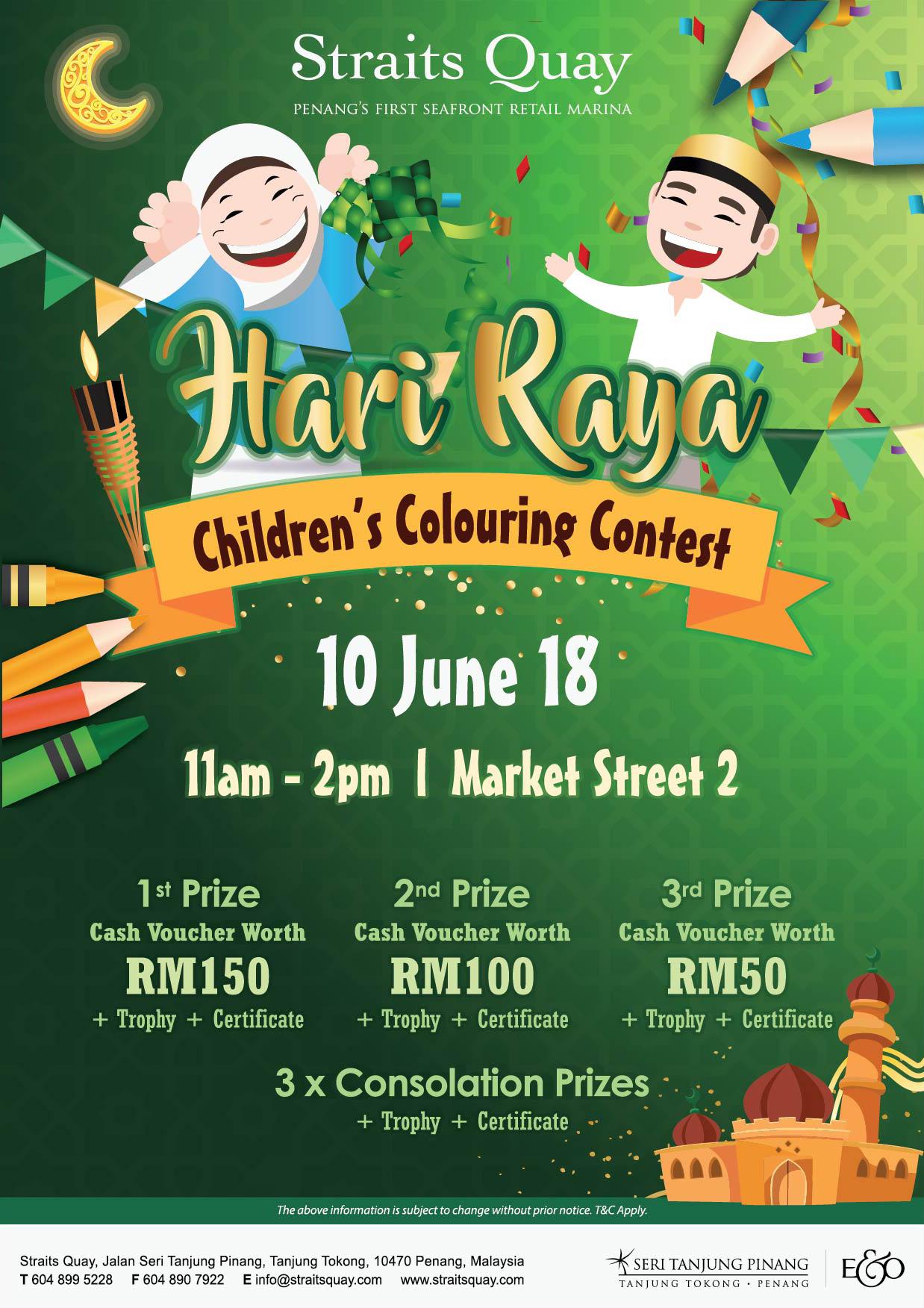 Raya colouring contest form