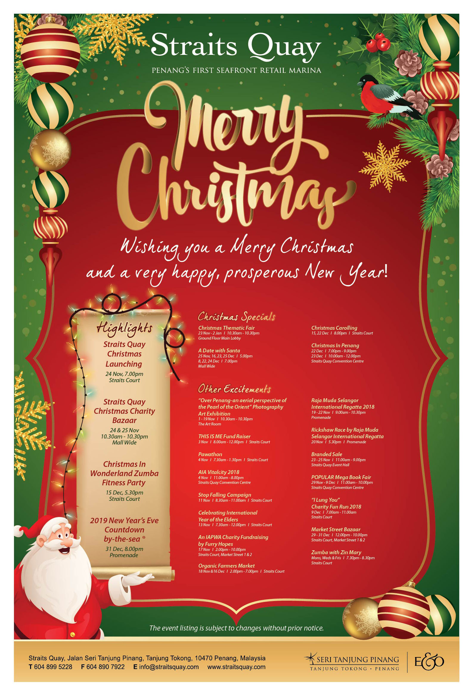 FA Christmas  Generic Poster 1Nov