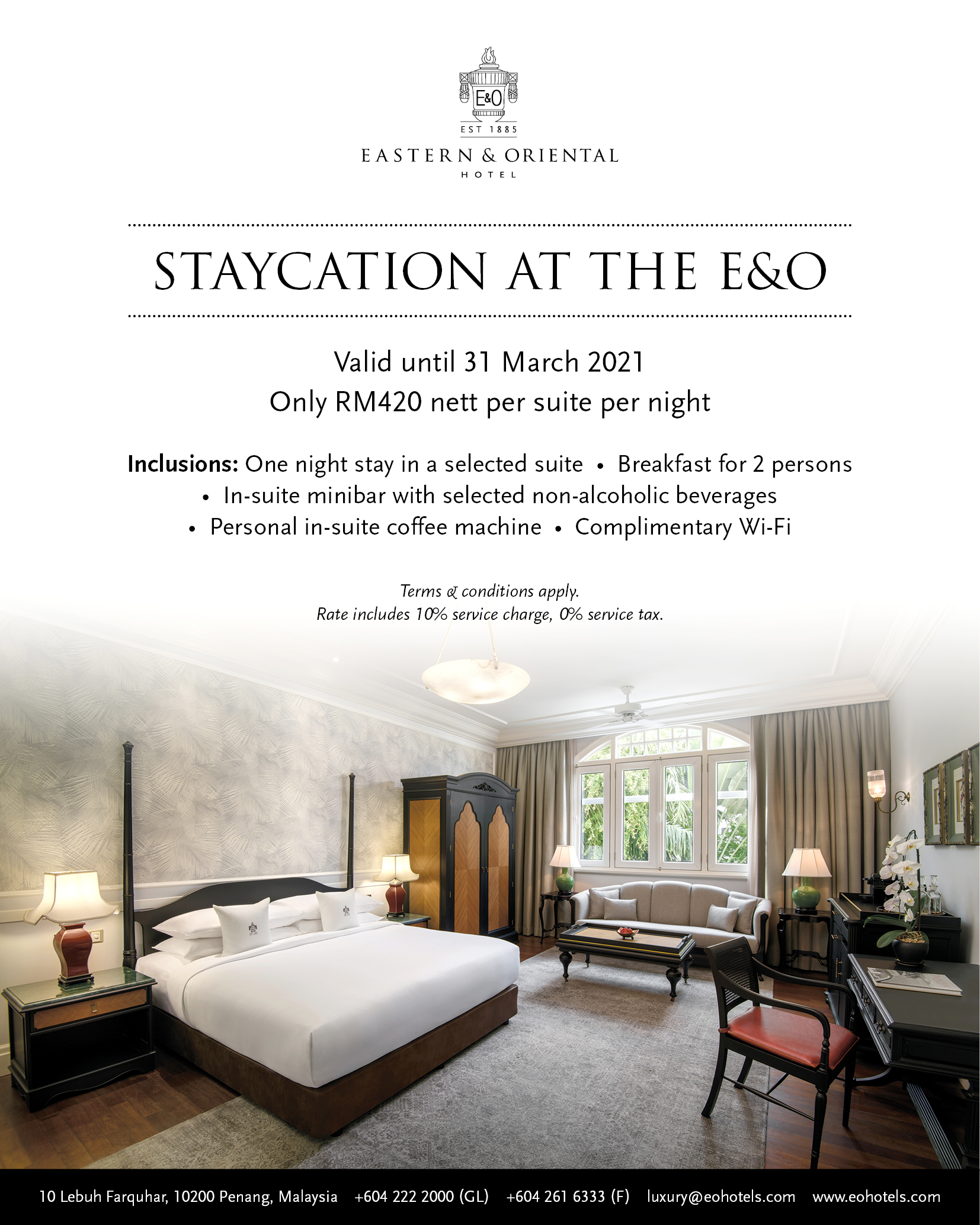 Staycation at the E&O (1)